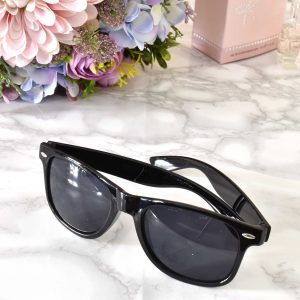 dámske slnečné okuliare čierne s čiernym sklom uv400