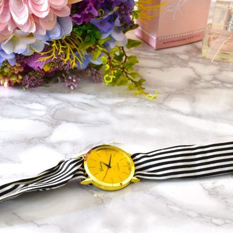 Dámske elegantné látkové hodinky